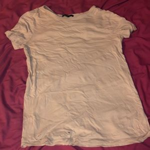 Tops - forever 21 nude shirt